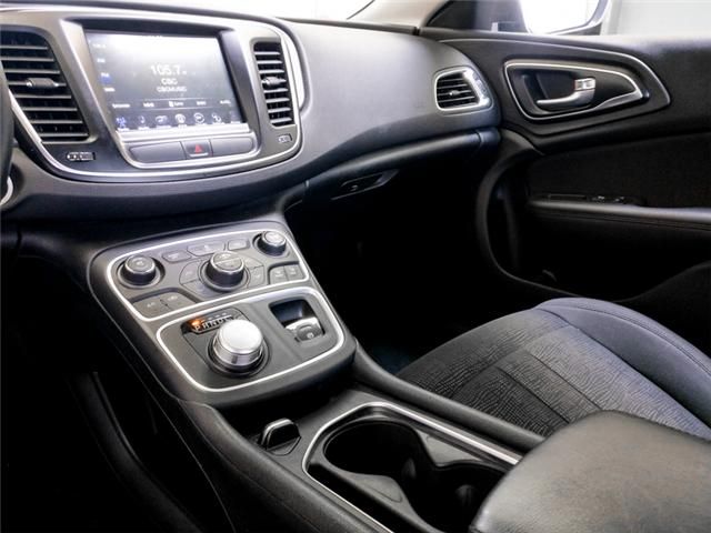 2016 Chrysler 200 Limited (Stk: 9-6072-0) in Burnaby - Image 9 of 23