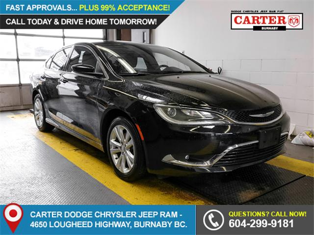 2016 Chrysler 200 Limited (Stk: 9-6071-0) in Burnaby - Image 1 of 23