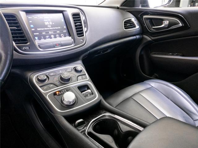 2016 Chrysler 200 C (Stk: 9-6068-0) in Burnaby - Image 9 of 23