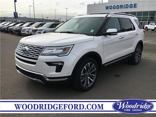 2019 Ford Explorer Platinum (Stk: K-327) in Calgary - Image 1 of 6