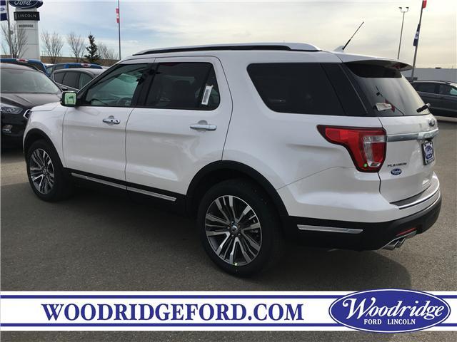 2019 Ford Explorer Platinum (Stk: K-334) in Calgary - Image 3 of 5