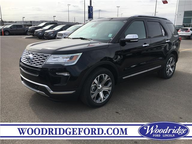 2019 Ford Explorer Platinum (Stk: K-337) in Calgary - Image 1 of 5