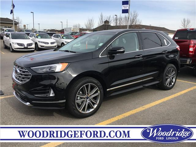 2019 Ford Edge Titanium (Stk: K-1218) in Calgary - Image 1 of 5