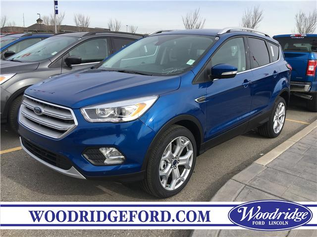 2019 Ford Escape Titanium (Stk: K-1232) in Calgary - Image 1 of 5
