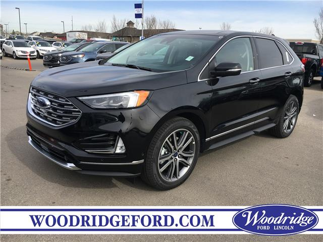 2019 Ford Edge Titanium (Stk: K-1583) in Calgary - Image 1 of 5