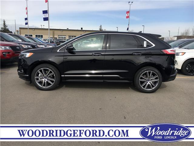 2019 Ford Edge Titanium (Stk: K-1583) in Calgary - Image 2 of 5