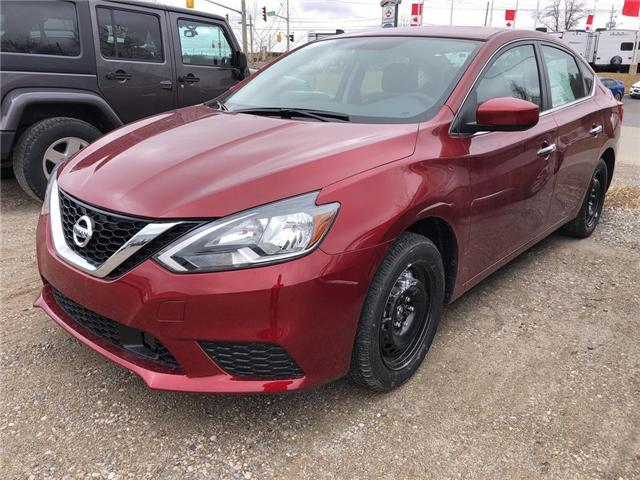 2019 Nissan Sentra 1.8 SV (Stk: V0333) in Cambridge - Image 1 of 5