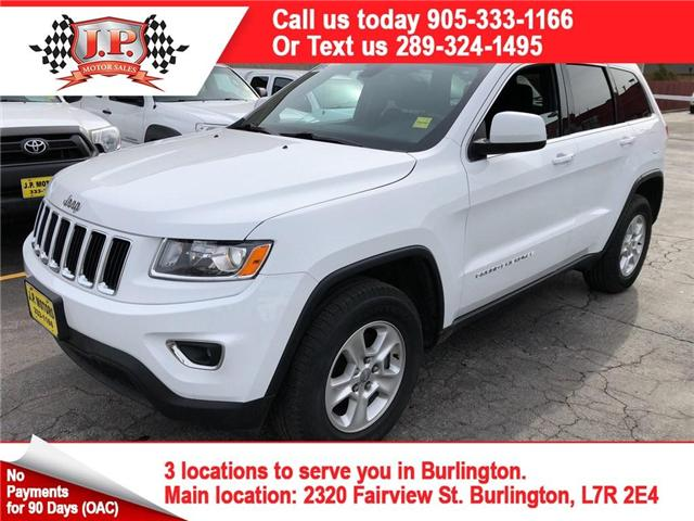 2016 Jeep Grand Cherokee Laredo (Stk: 46306) in Burlington - Image 1 of 20