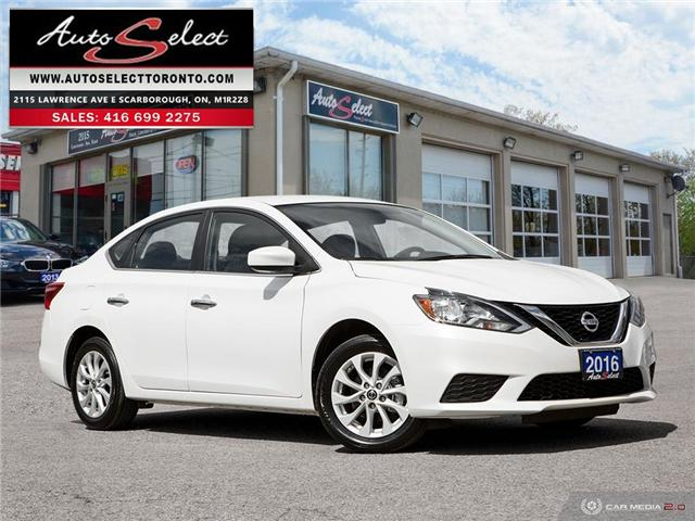 2016 Nissan Sentra  (Stk: 16NRT41) in Scarborough - Image 1 of 28