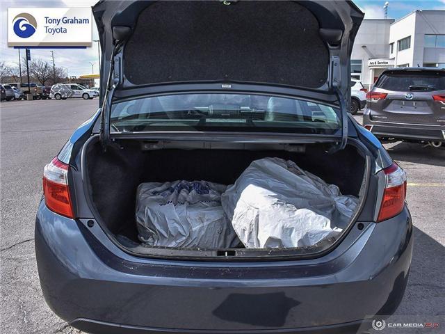 2016 Toyota Corolla S (Stk: E7782) in Ottawa - Image 11 of 28