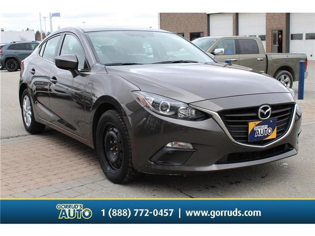 2016 Mazda Mazda3 GS (Stk: 292902) in Milton - Image 1 of 9