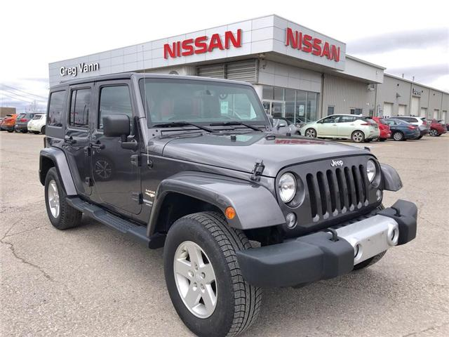 2014 Jeep Wrangler Unlimited Sahara (Stk: P2517A) in Cambridge - Image 1 of 14