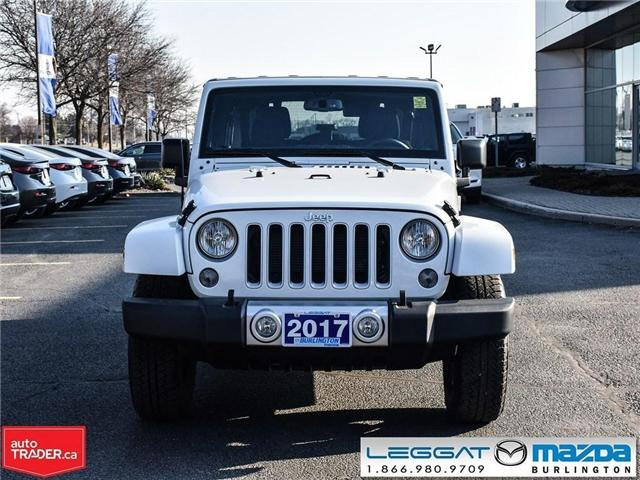 2017 Jeep Wrangler Unlimited Sahara 4X4 (Stk: 1786A) in Burlington - Image 2 of 21