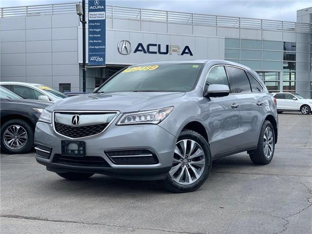 2016 Acura MDX Navigation Package (Stk: 3966) in Burlington - Image 1 of 30