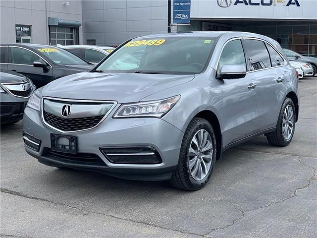2016 Acura MDX Navigation Package (Stk: 3966) in Burlington - Image 2 of 30