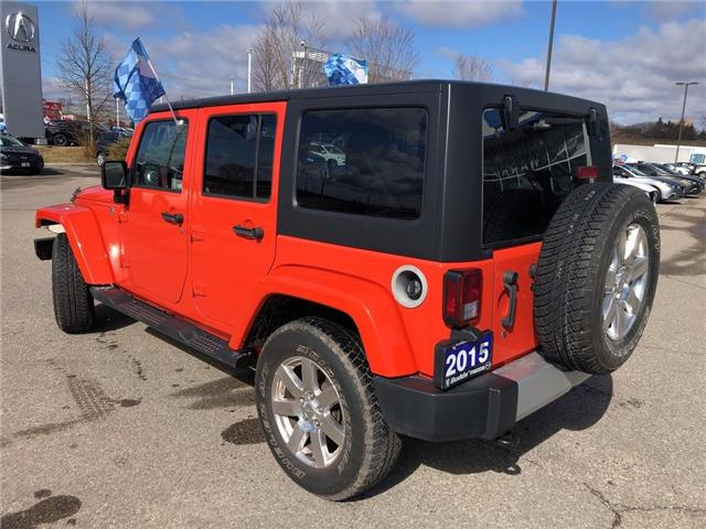 2015 Jeep Wrangler Unlimited Sahara (Stk: P3404) in Oakville - Image 4 of 18
