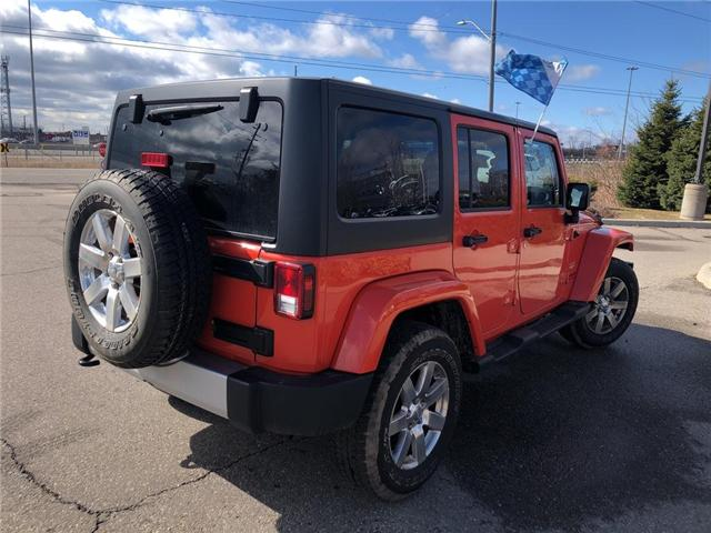 2015 Jeep Wrangler Unlimited Sahara (Stk: P3404) in Oakville - Image 6 of 18