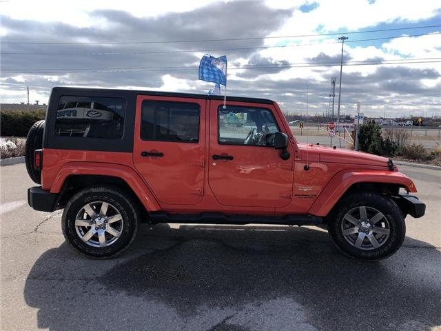 2015 Jeep Wrangler Unlimited Sahara (Stk: P3404) in Oakville - Image 7 of 18