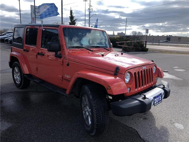 2015 Jeep Wrangler Unlimited Sahara (Stk: P3404) in Oakville - Image 8 of 18