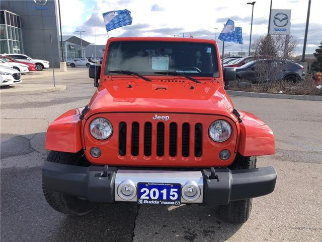2015 Jeep Wrangler Unlimited Sahara (Stk: P3404) in Oakville - Image 9 of 18