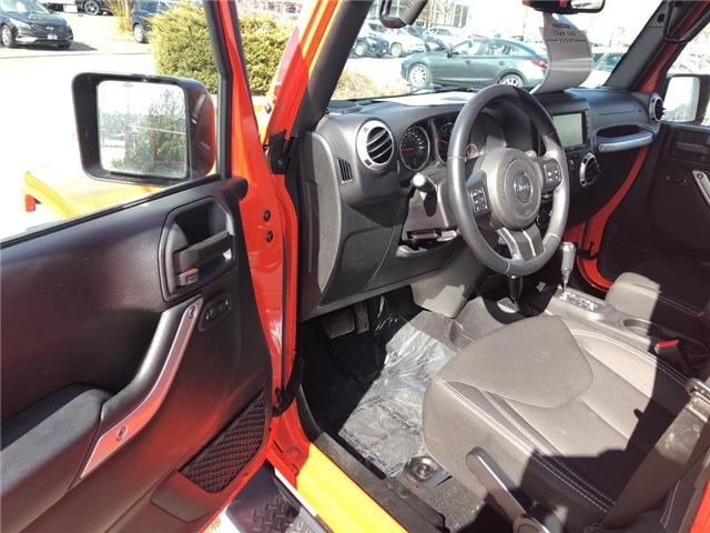 2015 Jeep Wrangler Unlimited Sahara (Stk: P3404) in Oakville - Image 12 of 18