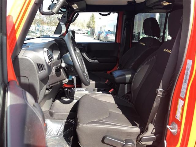 2015 Jeep Wrangler Unlimited Sahara (Stk: P3404) in Oakville - Image 13 of 18