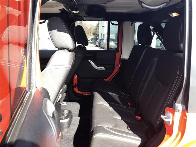 2015 Jeep Wrangler Unlimited Sahara (Stk: P3404) in Oakville - Image 16 of 18