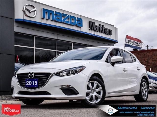 2015 Mazda Mazda3 GX (Stk: P1859) in Markham - Image 1 of 24