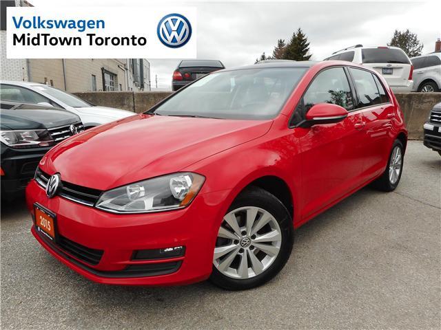 2015 Volkswagen Golf 1.8 TSI Comfortline (Stk: W0366A) in Toronto - Image 1 of 29