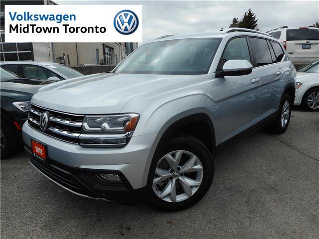 2018 Volkswagen Atlas 3.6 FSI Comfortline (Stk: V9249) in Toronto - Image 1 of 30