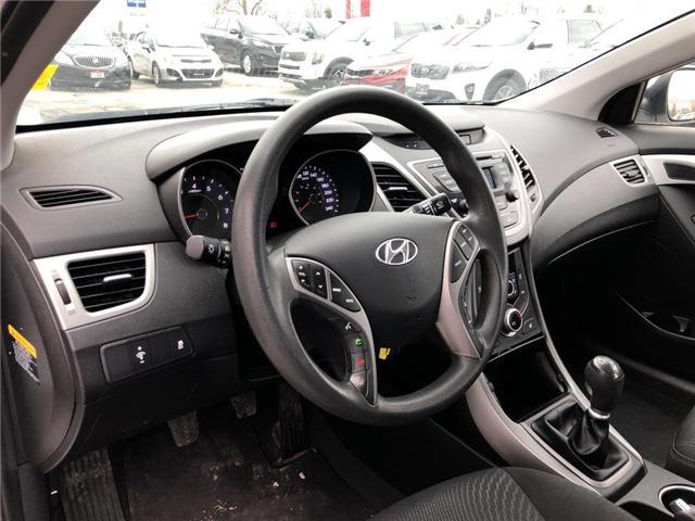 2015 Hyundai Elantra GL (Stk: P0038) in Stouffville - Image 10 of 20