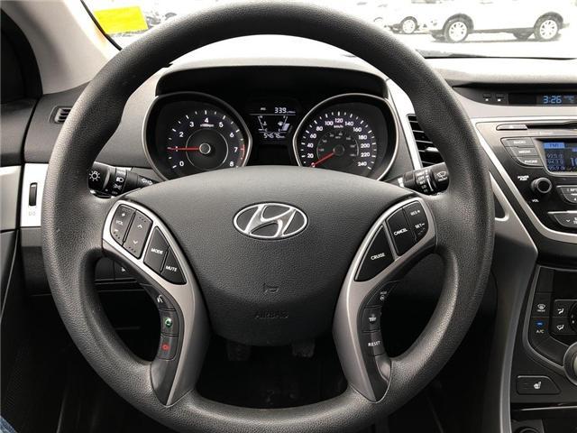 2015 Hyundai Elantra GL (Stk: P0038) in Stouffville - Image 11 of 20