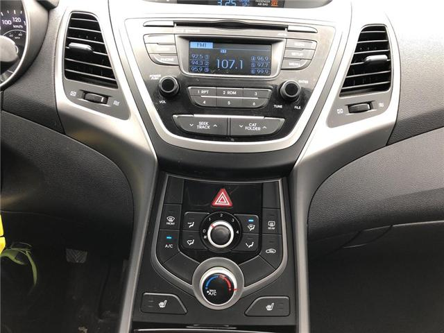 2015 Hyundai Elantra GL (Stk: P0038) in Stouffville - Image 15 of 20