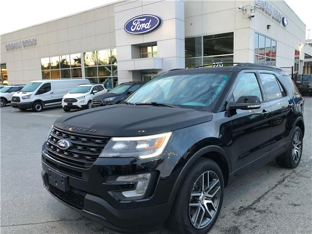 2017 Ford Explorer Sport (Stk: OP1988) in Vancouver - Image 1 of 25