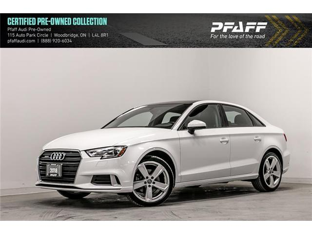 2018 Audi A3 2.0T Komfort (Stk: C6663) in Woodbridge - Image 1 of 22