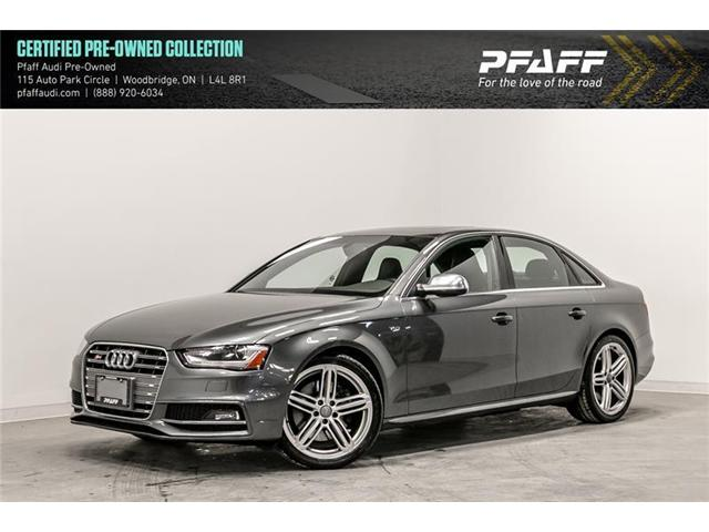 2015 Audi S4 3.0T Progressiv (Stk: C6685) in Woodbridge - Image 1 of 19