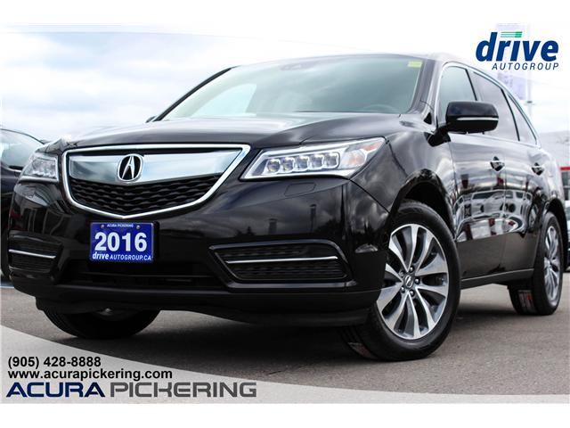 2016 Acura MDX Navigation Package (Stk: AP4807) in Pickering - Image 1 of 34