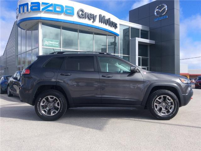 2019 Jeep Cherokee Trailhawk (Stk: 03340P) in Owen Sound - Image 1 of 22