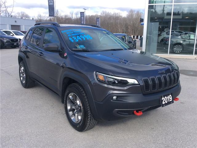 2019 Jeep Cherokee Trailhawk (Stk: 03340P) in Owen Sound - Image 2 of 22