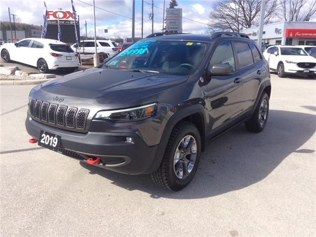 2019 Jeep Cherokee Trailhawk (Stk: 03340P) in Owen Sound - Image 4 of 23