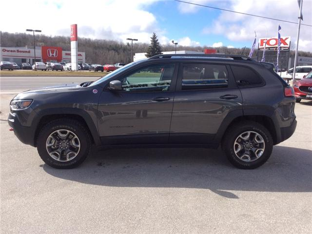 2019 Jeep Cherokee Trailhawk (Stk: 03340P) in Owen Sound - Image 5 of 23