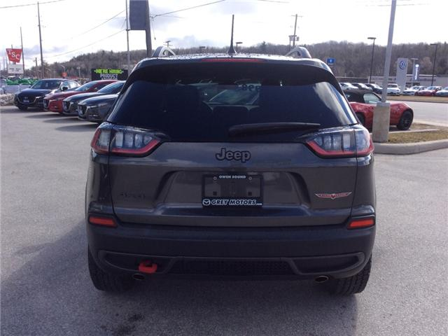 2019 Jeep Cherokee Trailhawk (Stk: 03340P) in Owen Sound - Image 7 of 23