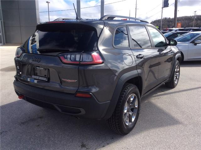 2019 Jeep Cherokee Trailhawk (Stk: 03340P) in Owen Sound - Image 8 of 23