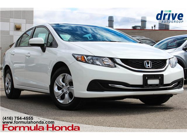2015 Honda Civic LX (Stk: B11070) in Scarborough - Image 1 of 25