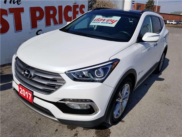 2017 Hyundai Santa Fe Sport 2.0T Limited (Stk: 19-168) in Oshawa - Image 1 of 16