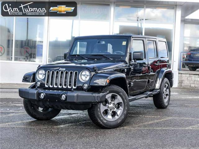 2018 Jeep Wrangler JK Unlimited Sahara (Stk: R7428) in Ottawa - Image 1 of 19