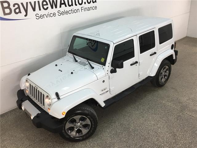 2018 Jeep Wrangler JK Unlimited Sahara (Stk: 34583W) in Belleville - Image 2 of 27