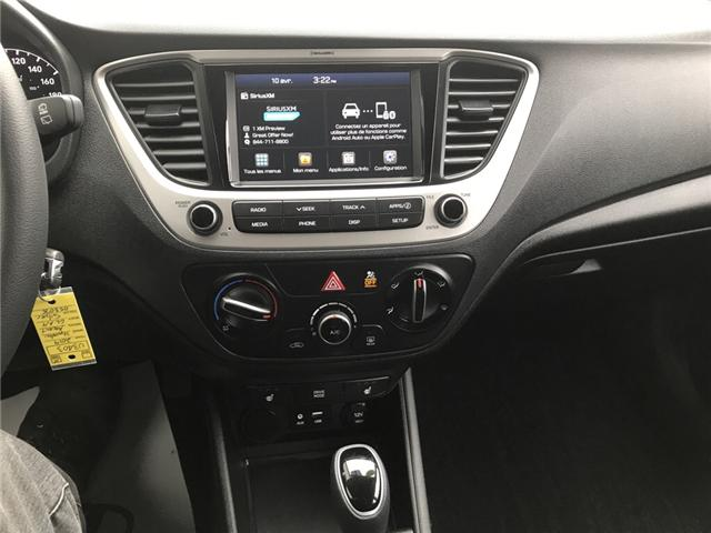 2019 Hyundai Accent Preferred (Stk: U3403) in Charlottetown - Image 15 of 18