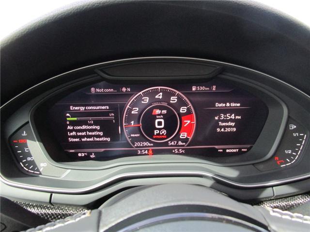 2018 Audi S5 3.0T Technik (Stk: RKS5) in Regina - Image 15 of 28