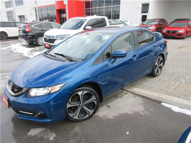 2014 Honda Civic Si (Stk: 26837L) in Ottawa - Image 1 of 8